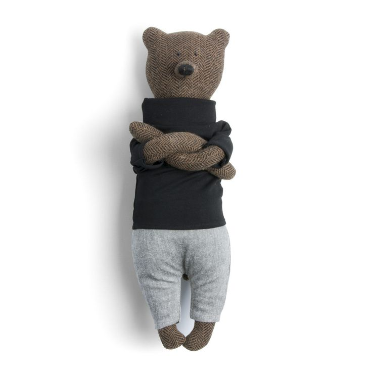 """Evan"" the bear of Maison Godillot"