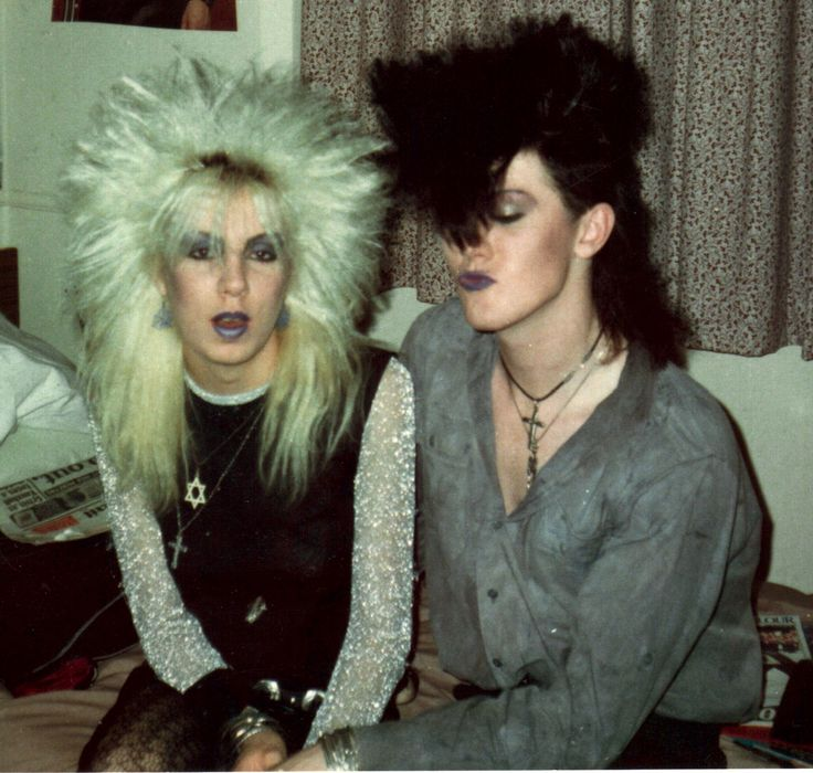 Nicky Nemesis and Clare Violet. London