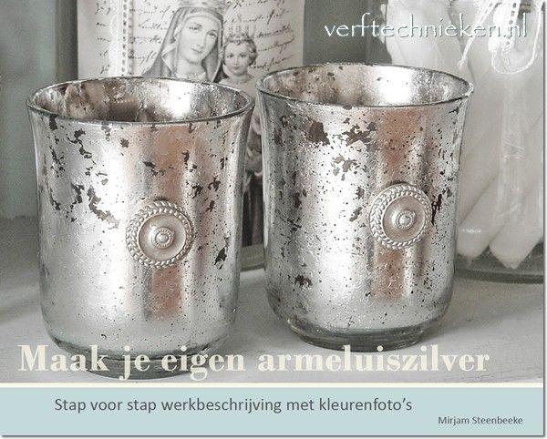 E-book Maak je eigen armeluiszilver - verftechnieken.nl