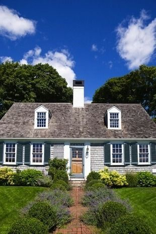 17 best images about dormers on pinterest for Cape cod house characteristics