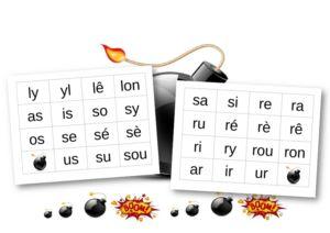 Le « Bang ! » des syllabes