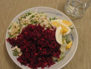 Beetroot moderate salad (Thermomix)