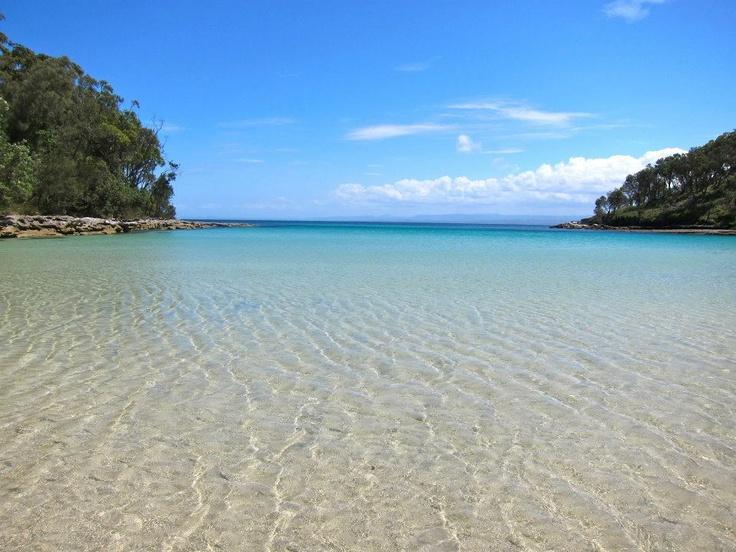"b+s reader, Belinda Jurd #serenityspot, Booderee National Park, NSW: ""This is my happy place."""