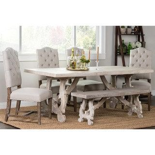 Shop for Elliott Rustic Hand Crafted 76-inch Dining Table by Kosas Home. Get free shipping at Overstock.com - Your Online Furniture Outlet Store! Get 5% in rewards with Club O! - 16977283
