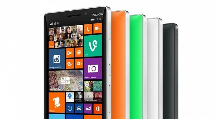 Nokia Lumia 930 in meerdere kleuren..