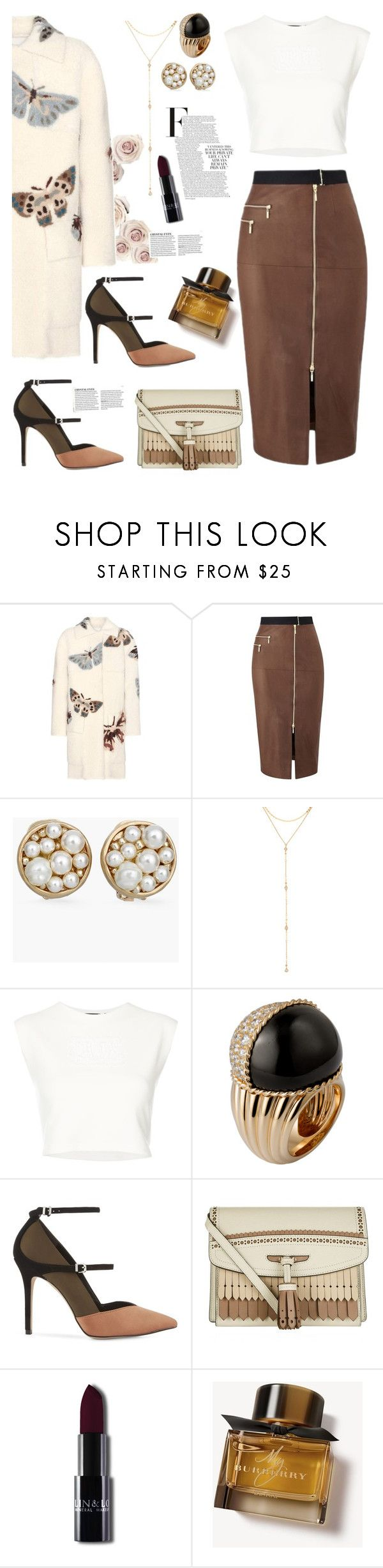 """private lives"" by felicitysparks ❤ liked on Polyvore featuring Valentino, Amanda Wakeley, Chico's, Fragments, Puma, Reiss and Burberry"