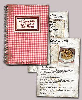 1000+ ideas about livre de recette on pinterest | livres de ... - Creer Un Livre De Cuisine Personnalise