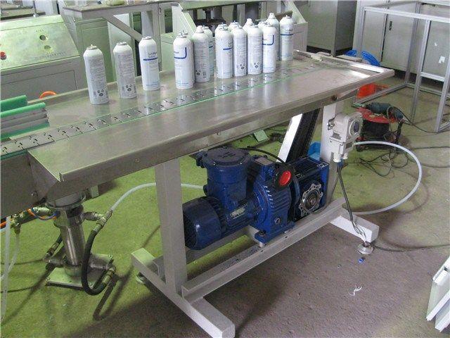 mini semiautomatic aerosol filling machine/hair sprayer filling machine     More: https://www.aerosolmachinery.com/sale/mini-semiautomatic-aerosol-filling-machinehair-sprayer-filling-machine.html