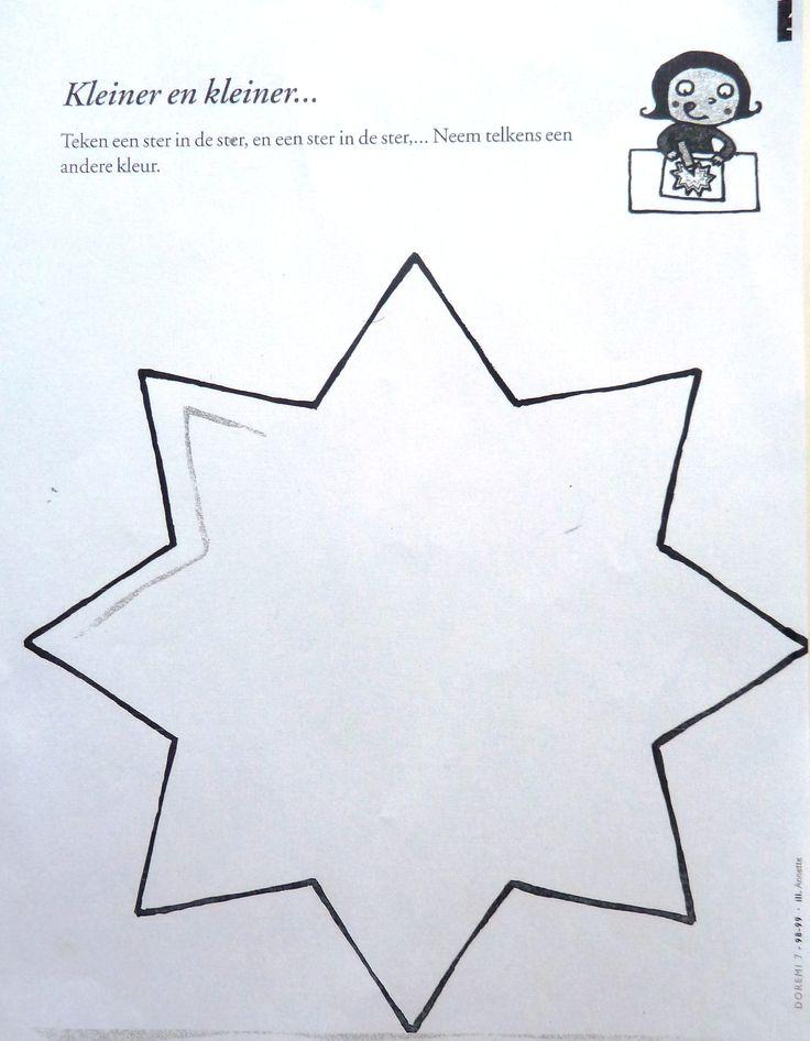 Werkblad - KERST - voorbereidend schrijven.