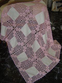 Artesanato - Arte em Croché: Camilhas em croché e linho