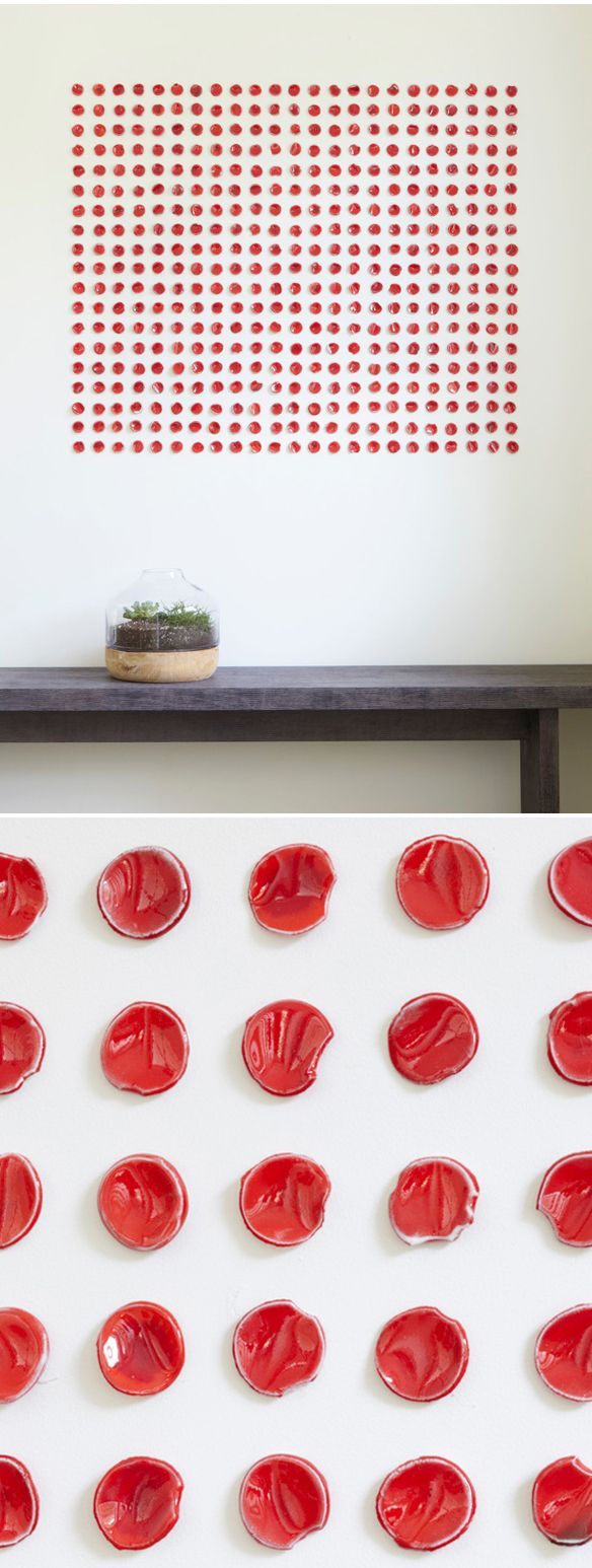 Porcelain wall installation by ReCheng Tsang