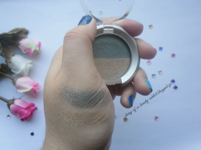 PRIVE Metallic Wet & Dry Eye-Shadow Duo Avant Garde