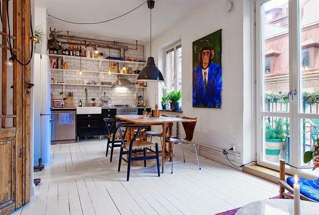 Tiny Swedish Apartment (via Bloglovin.com )