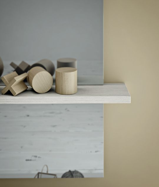 A datail of the #shelve. #bathdesign #design #MastellaDesign #furniture #wood #wooden #hpl #interiors #decor #interiordesign