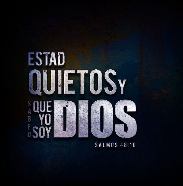 cita biblica de hoy yo soy dios