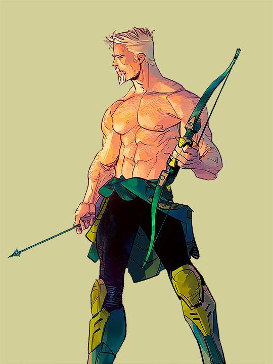 Oliver Queen in Green Arrow #17