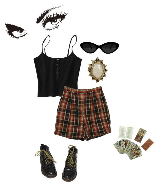 ca4f979409927 somebody spoke and i went into a dream by awmolly on Polyvore featuring  polyvore, moda, style, Dr. Martens, Izod, fashion and clothing