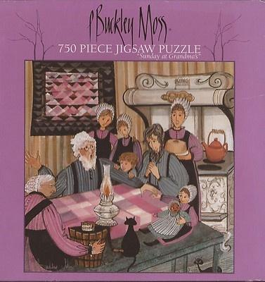 P Buckley Moss:  Sunday at Grandma's