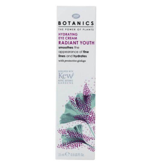 Botanics Radiant Youth Hydrating Eye Cream 15ml - Boots