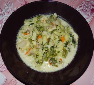 Кушать подано! Рецепты вкусных блюд из простых продуктов.: Сырный суп с шампиньонами и брокколи (или цветной ...