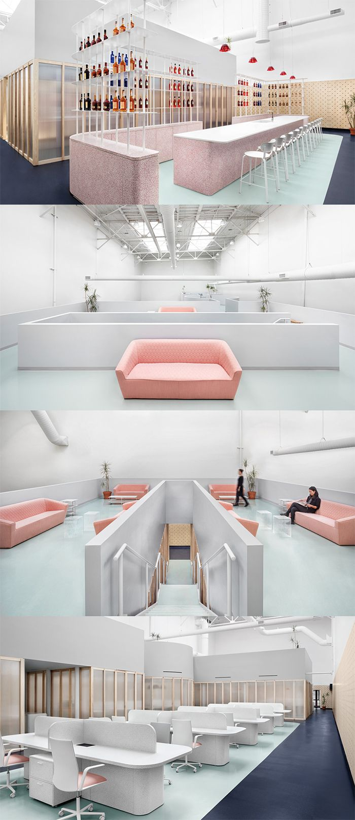 Campari Offices, Toronto – Canada http://thecoolhunter.net/campari-offices-toronto-canada/