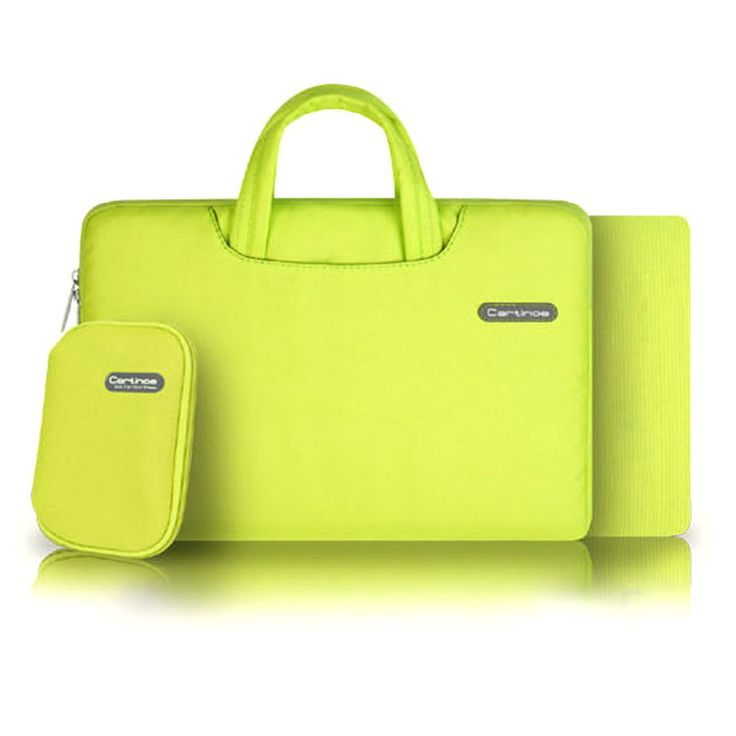 Bright Yellow 15 Inch Waterproof Laptop Bags