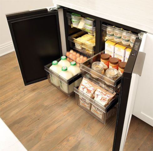 Best 25 Small Refrigerator Ideas On Pinterest Storage Spaces Tiny Fridge And Small French Country Kitchen