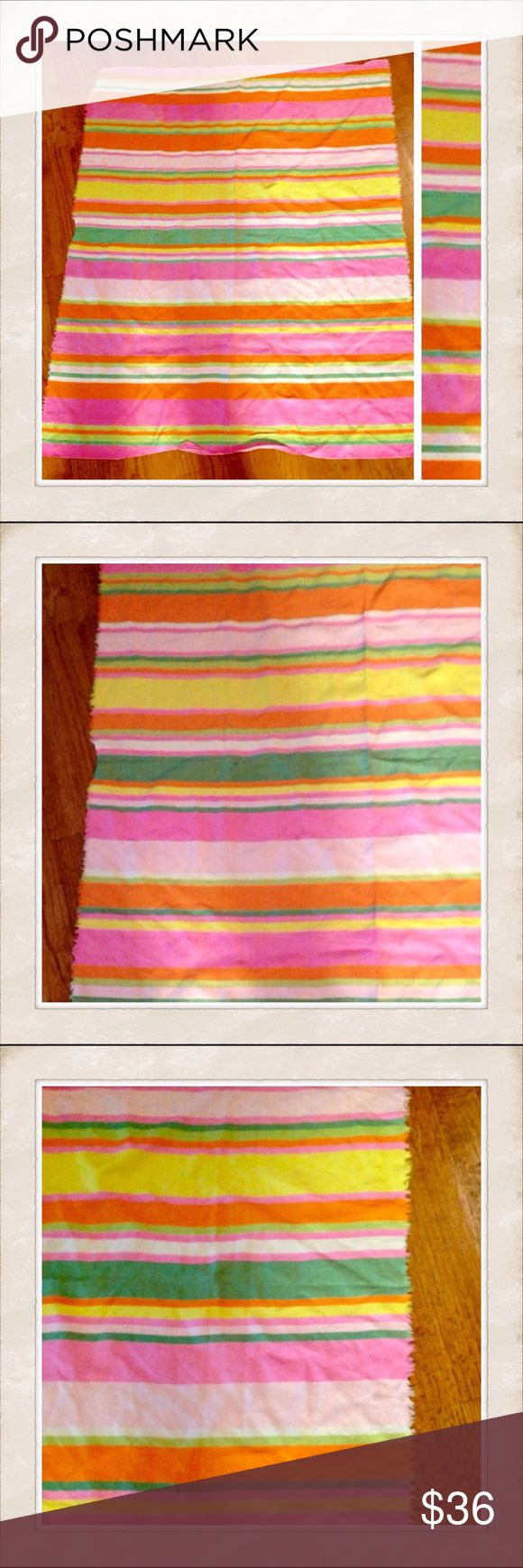 "Huge Colorful Scarf, Wrap, Shaw, Vintage Wrap This can be used as a wrap, shaw of large scarf    In great condition    No tags but it's very soft and on the thicker side. Like a summer wrap would be.     Approx measurements 42""x35"" Vintage Accessories Scarves & Wraps"