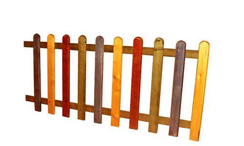 ahşap çitler