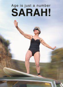 Age is just a number.. Remember that Sarah! :-) #Hallmark #HallmarkNL #happybirthday #birthday #verjaardag #jarig #bday #gefeliciteerd #felicitatie