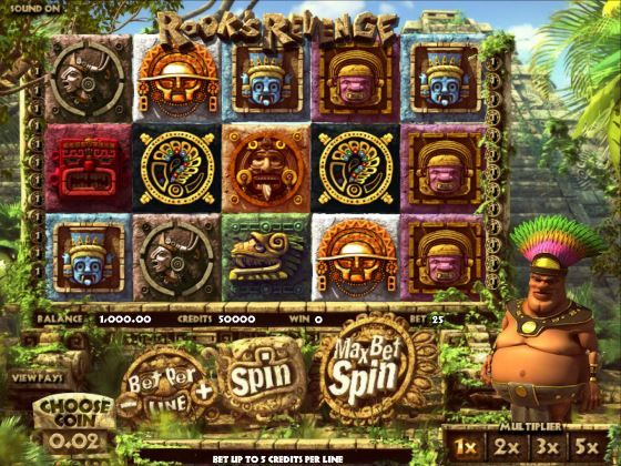 Rook's Revenge 3D Slot Machine. Play this amazing 3D 5-reel slot game at SweetBet