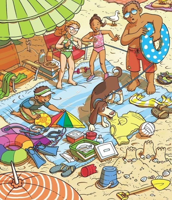 (2014-08) Hvad gør de på stranden?
