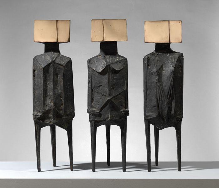 Three Standing Figures - Lynn Chadwick