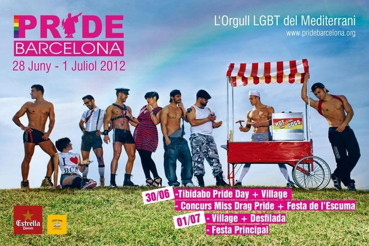 Ven a disfrutar de este Pride Barcelona 2012, serás el testimonio privilegiado de un evento que ya destaca entre las celebraciones del Orgullo lésbico, gay, bi y trans en todo el mundo. La Avinguda Maria Cristina se convierte, un año más, en el centro de la actividad y corazón del Pride Barcelona. Del 27 de junio al 1 de julio (días principales 29, 30 de junio y 1 de julio)!
