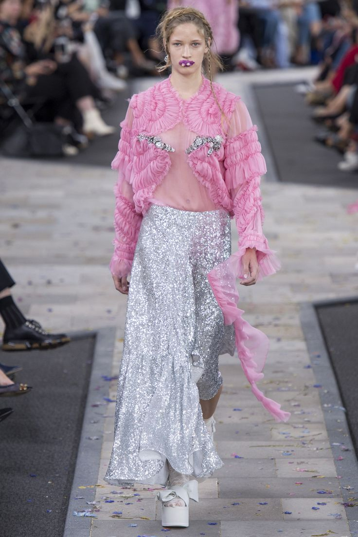 Vogue Runway's Sarah Mower picks the 8 definitive collections of London Fashion Week: Preen by Thornton Bregazzi.
