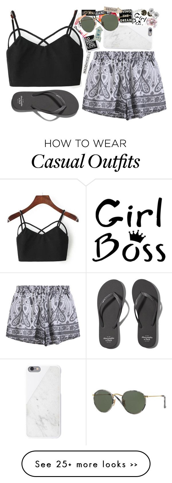 """Casual"" by lmao60lol on Polyvore"