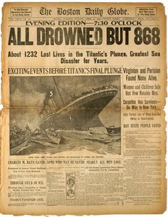 Real Pictures From The Titanic   so i was listening to the radio the other day when i heard someone say ...