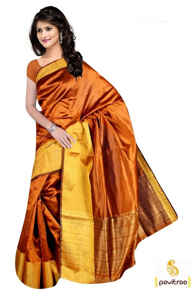 Beautiful traditional copper gold bengluri silk saree online with blouse. Get the pure quality fabric Indian ethnic wear pure silk sarees online shopping collection with low cost. #sari, #festivalwearsaree, #designersarees, #sareesonline, #sareeonline, #Indiansaree,   #buysilksarees, #onlinesarees, #silksareesonline, #fashionsarees,  #beautifulsaree,   #trendysarees, #lowestpricesarees More Product:   http://www.pavitraa.in/store/silk-sarees/ Any Query:   Call Us:+91-7698234040