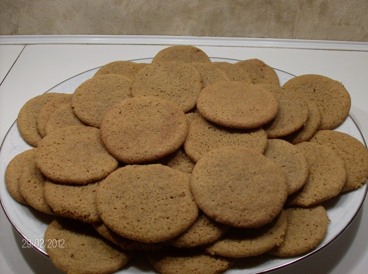 Big soft ginger cookies - so good you'll want one for each hand. From ...