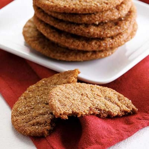 Ginger Crinkle Cookies  | KitchenDaily.com