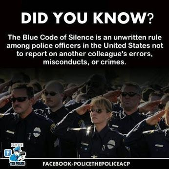 police code of silence essay In the late 1960s, the encyclopedia of law enforcement points out and cover-ups in the chicago police department, pointed out that police corruption is enabled by a 'blue code of silence' entrenched in a department culture where officers avoid reporting crimes and.