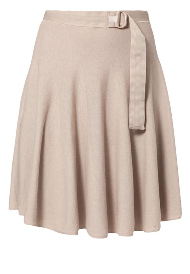 Stefanel - A-line skirt - beige