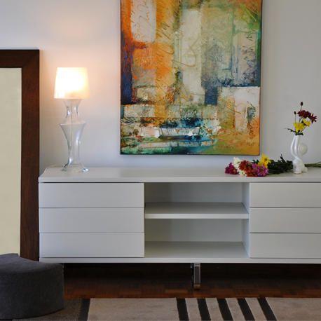 el mueble de guardado greta para tv cuenta con un diseo moderno que se integrar fcilmente