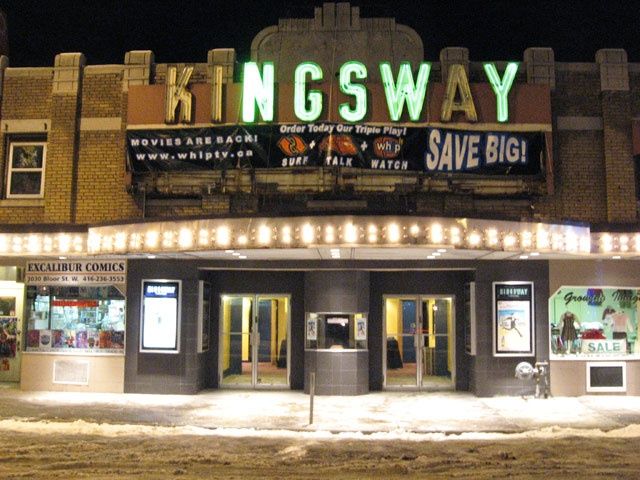 The Kingsway Theatre! it was a second-run theatre and regular haunt of ours in the late 70's. Happy to see it's back in business.