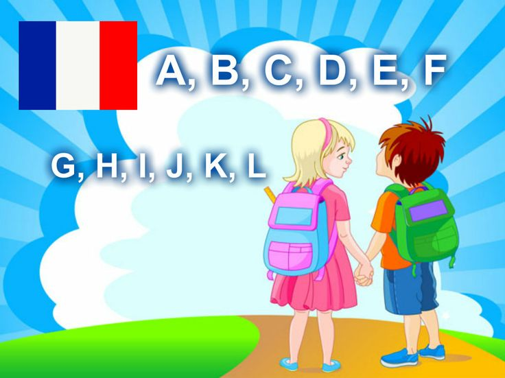 L'alphabet français. Présentation audio