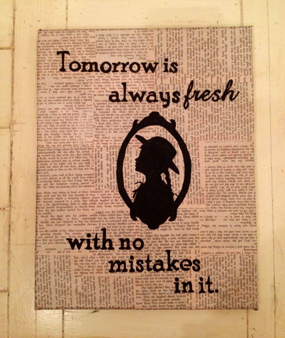 Tomorrow is always fresh...