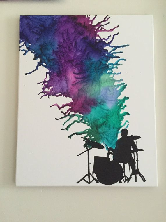 Funky Drummer by TheTieDyeCrayon on Etsy