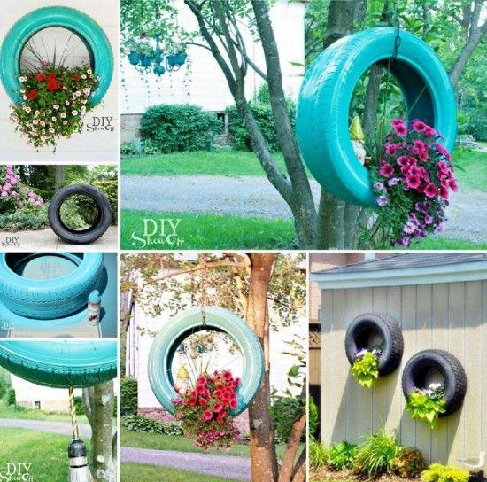 87 best cool tire uses images on pinterest old tires garden ideas and recycle tires - Garden ideas using old tires ...