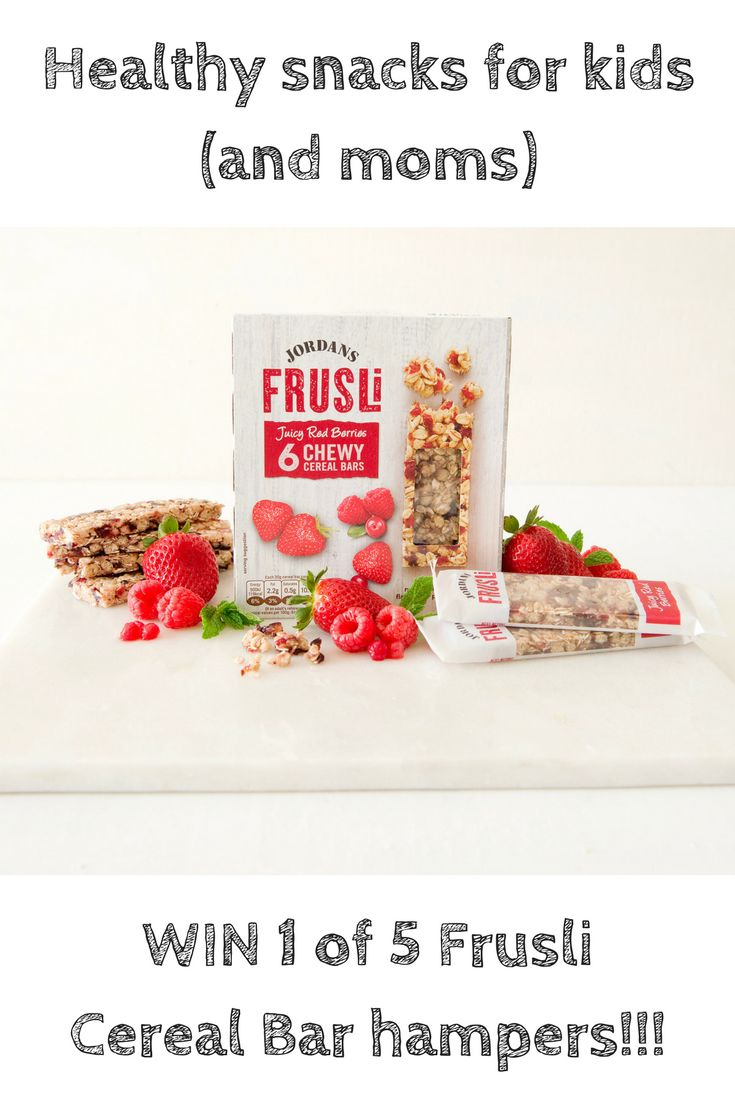 Healthy snacks for kids (and moms) with Frusli Cereal Bars {+ WIN!!!}  http://highheelsandfairytales.co.za/healthy-kids-snacks-frusli-cereal-bars/ #healthysnacks #healthykidssnacks #kidssnacks #cerealbars #mombloggers