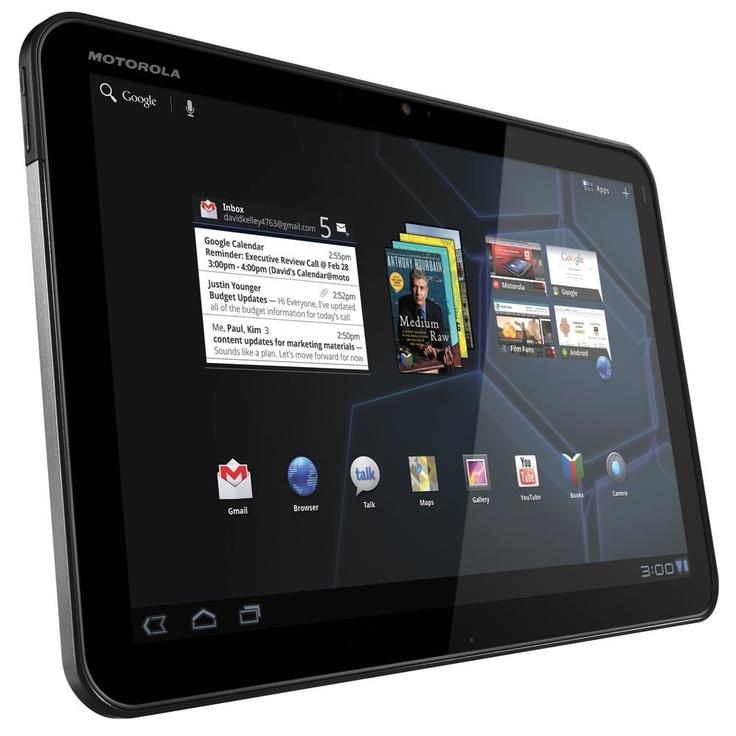 Motorola Xoom 3G + WiFi - 32 GB - Hitam